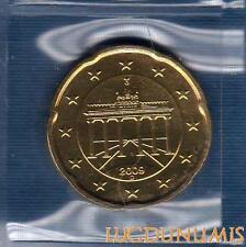 Allemagne 2009 20 centimes D Munich FDC provenant coffret 60000 exemplaires