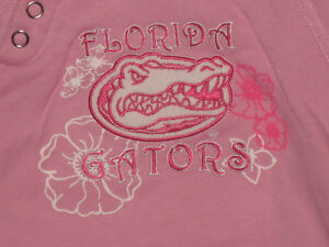 NEW FLORIDA GATORS PINK AND WHITE SWEAT SUIT 12 MOS