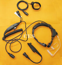 Heavy Duty VOX Throat Mic For Motorola GP-340 GP-360 GP-380 HT-750 HT-1250