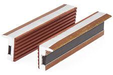 1 Paar Schutzbacken für Schraubstock 2-tlg. 125 mm Aluminium Backen mit Magnet
