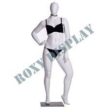 Female Plus Size Egg Head Mannequin Dress Form Display Mz F3d03w