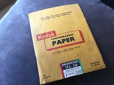 Vintage Kodak Photographic Paper Envelope