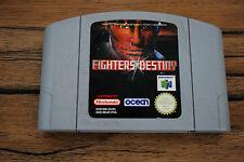 Jeu FIGHTERS DESTINY pour Nintendo 64 N64