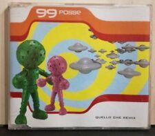 99 POSSE - QUELLO CHE REMIX brano in 4 versioni - cd singolo slim case PROMO1998