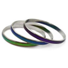 Mood Emotion Thermochromic Colour Change Cuff Bangle Bracelet Fashion Jewellery