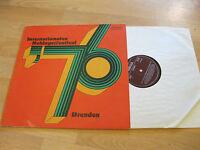 LP Internationales Schlagerfestival Dresden '76 Vinyl AMIGA DDR 8 55 546