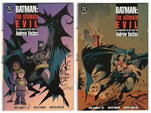 Batman The Ultimate Evil #1-2, Andre Vachss, Neal Barrett Jr., Denys Cowan A