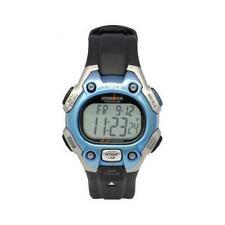 Timex T5K100 Men's Triathlon 50-lap Mem Digi Blue-Highlight Black Strap