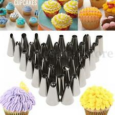35Pcs DIY Pastry Fondant Cake Icing Piping Nozzles Decorating Tips Baking Tool