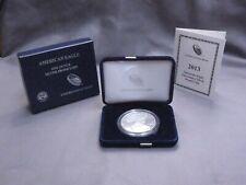 2013 Proof American Silver Eagle Bullion   w/ Box + COA