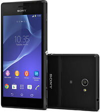 Sony Xperia M2  D2303 Black 4G LTE 8MP  Smart phone free shipping