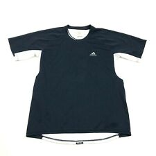 Adidas Galaxy Clima365 Dry Fit Shirt Men's Size Medium Blue White Jersey Vented