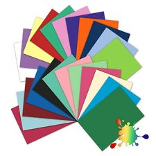 Coloured Card A4 Sheets 240gsm for Cardmaking, Scrapbooking & Paper Crafts