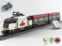 """Expresszug """"Brick Folk"""" - Bahn MOC - PDF Bauanleitung - kompatibel mit LEGO"""