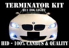 BMW H11 CANBUS FOG LIGHT TERMINATOR HID XENON KIT NO ERRORS E92 E93 E60 F10 F30