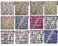 Canvas Butterfly Owl Cross Body School Satchel Shoulder Messenger Bag Women