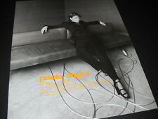 Paula Abdul gets comfortable on couch with wires 1995 Promo Poster Ad mint cond