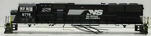 ATHEARN G67368B SD60M NORFOLK SOUTHERN #6778 (SHELL ONLY& NO BOX) HO SCALE