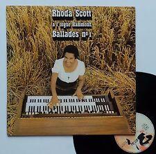 "Vinyle 33T Rhoda Scott ""A l'orgue hammond - Ballades n°1"""