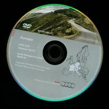 AUDI Benelux bis Portugal UK France DVD RNS-E Navigation A3 A4 A6 TT 2016