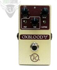 New! Robert Keeley Oxblood Overdrive - Quad Mode Adjustable Shelving + Gain