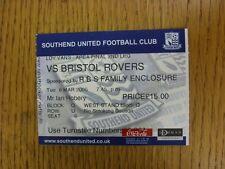 08/03/2005 Ticket: Football League Trophy [LDV Vans] Southern Area Final - South
