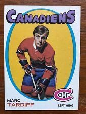 1971/72 Topps Hockey Card #29 Marc Tardiff Montreal Canadiens EX