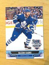 WC15 NAZEM KADRI 2014 Winter Classic Upper Deck SGA Hockey Card Maple Leafs NHL