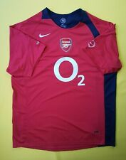 5/5 Arsenal training jersey large shirt soccer football Nike ig93