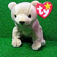 Ty Beanie Baby Almond The Bear Retired 1999 Plush Toy - Ships FREE