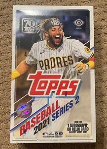 2021 Topps Series 2 Baseball HOBBY Box FACTORY SEALED 1 Hit