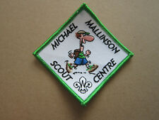 Michael Mallinson Scout Centre Cloth Patch Badge Boy Scouts Scouting L3K C