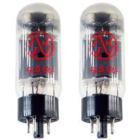 JJ/Tesla 6L6 6L6GC Power Vacuum Tubes, Matched Pair