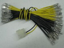 New Arcade Led Power Supply Cable 30 Wire Connectors .250 Molex Mame Jamma