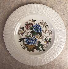 Vintage Royal Cauldon Indian Tree Floral Ironstone Ivory Dinner Plate- Inc Ship
