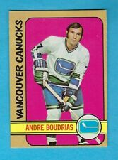 1972-73 OPC 93 Andre Boudrias Vancouver Canucks! NM!