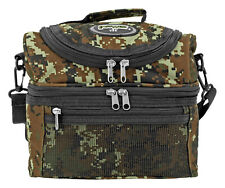 Tactical Lunch Bag Gear Food Insulated Storage - Green Digital Camo