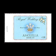 Anguilla, Sc #444, Booklet, MNH, 1981, Royal Wedding, Diana, Charles, A5EIDcx