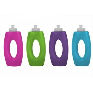 Running One Handed Water Bottle 400ml Sports Drinks UK Sport and Active FITNESS