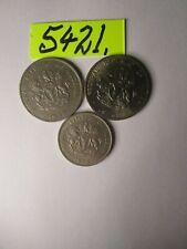 3 x    coins   NIGERIA     17    gms      Mar5421