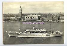 LN1283 - Italian Adriatica Liner - San Marco , built 1956 - postcard