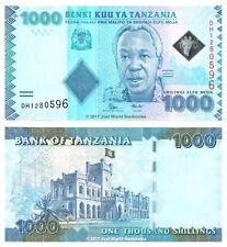 Tanzania 1000 Shillings ND (2015) P-41b Banknotes UNC