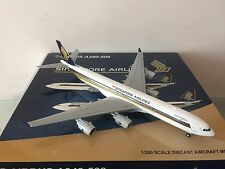 "JC Wings 200 Singapore Airlines A340-500 ""Leadership"" 1:200 DIECAST 9V-SGA"