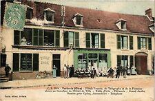 CPA Verberie - Hotel Vasseur Du Telegraphe et de la Fontaine Reunis (259595)