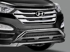 DM Santa FE Alloy Nudge Bar - Low Mount Genuine Hyundai 2012 ONWARD