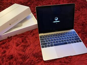 MacBook 12 Gold Early 2015 1.1GHz M 8GB 256GB SSD -Good Condition
