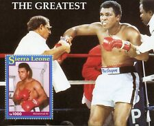 Sierra Leone 1993 MNH Muhammad Ali The Greatest 1v S/S Boxing Stamps