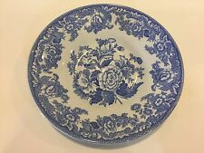 """The Spode Blue Room Collection """"British Flowers"""" Jumbo Saucer Only"""
