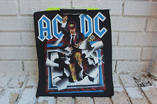 Vintage Ac/Dc Back Patch Hard Rock Classic Shirt Heavy Metal Concert acdc