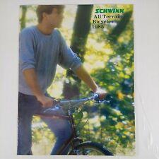 Vintage Schwinn 1985 All Terrain Bicycles Brochure